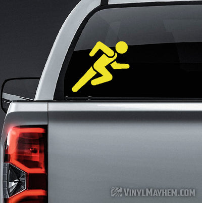 Run Icon vinyl sticker