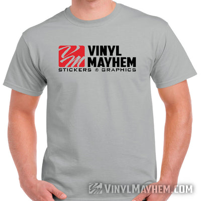 Vinyl Mayhem T-Shirt with corporate logo