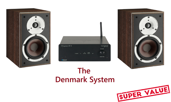 NEW! Tangent Ampster II BT + DALI Spektor 2 Speakers