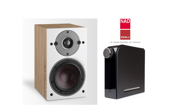 NEW! NAD D3020V2 + DALI Oberon 1 Speakers