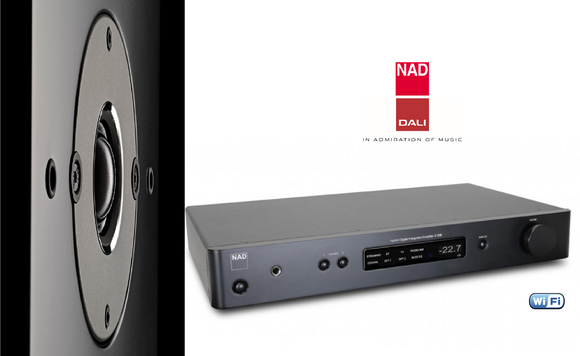 NEW! NAD C338 + DALI Oberon 1 Speakers