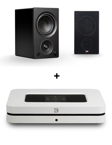 Bluesound Node 2i + PSB Alpha AM3