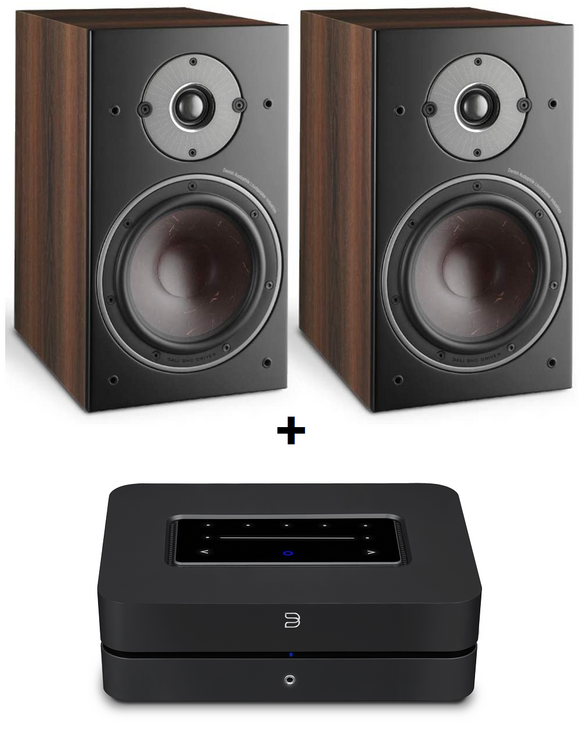 Bluesound Powernode 2i + DALI Oberon 3