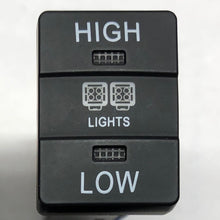 "Load image into Gallery viewer, ""High - Low"" Light Switch - Toyota"