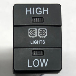 """High - Low"" Light Switch - Toyota"