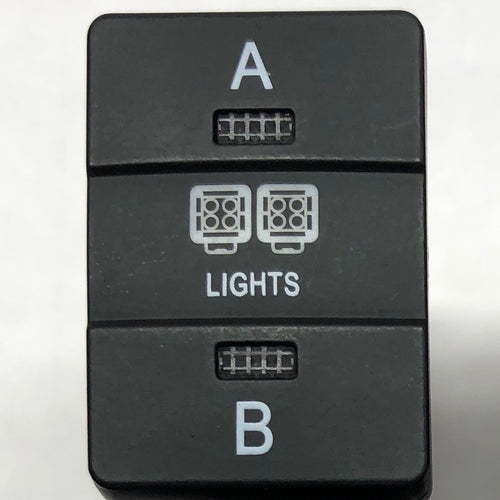 """A - B"" Light Switch - Toyota"