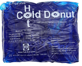 x-large relief pak cold n' hot Donut compression sleeve