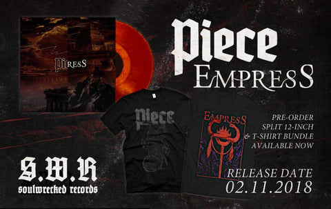 "COMPLETE BUNDLE: PIECE / EMPRESS - ""Split"" (12"") + 2 Shirts"