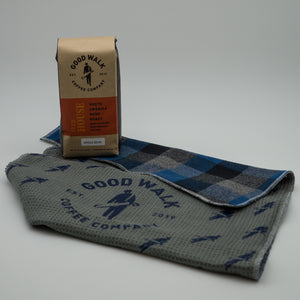 Coffee & Handcrafted Towel