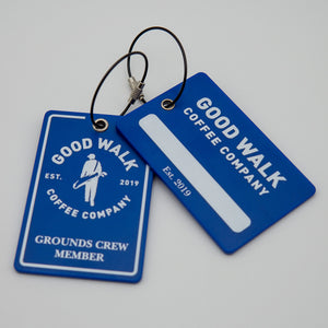 Grounds Crew Member Bag Tag