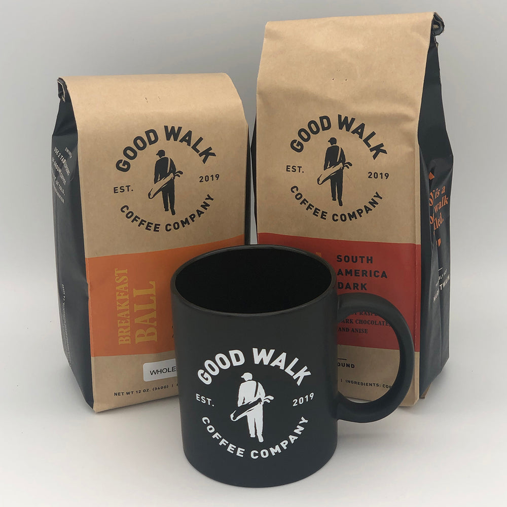 Coffee Sampler & Clubhouse Mug Gift Pack