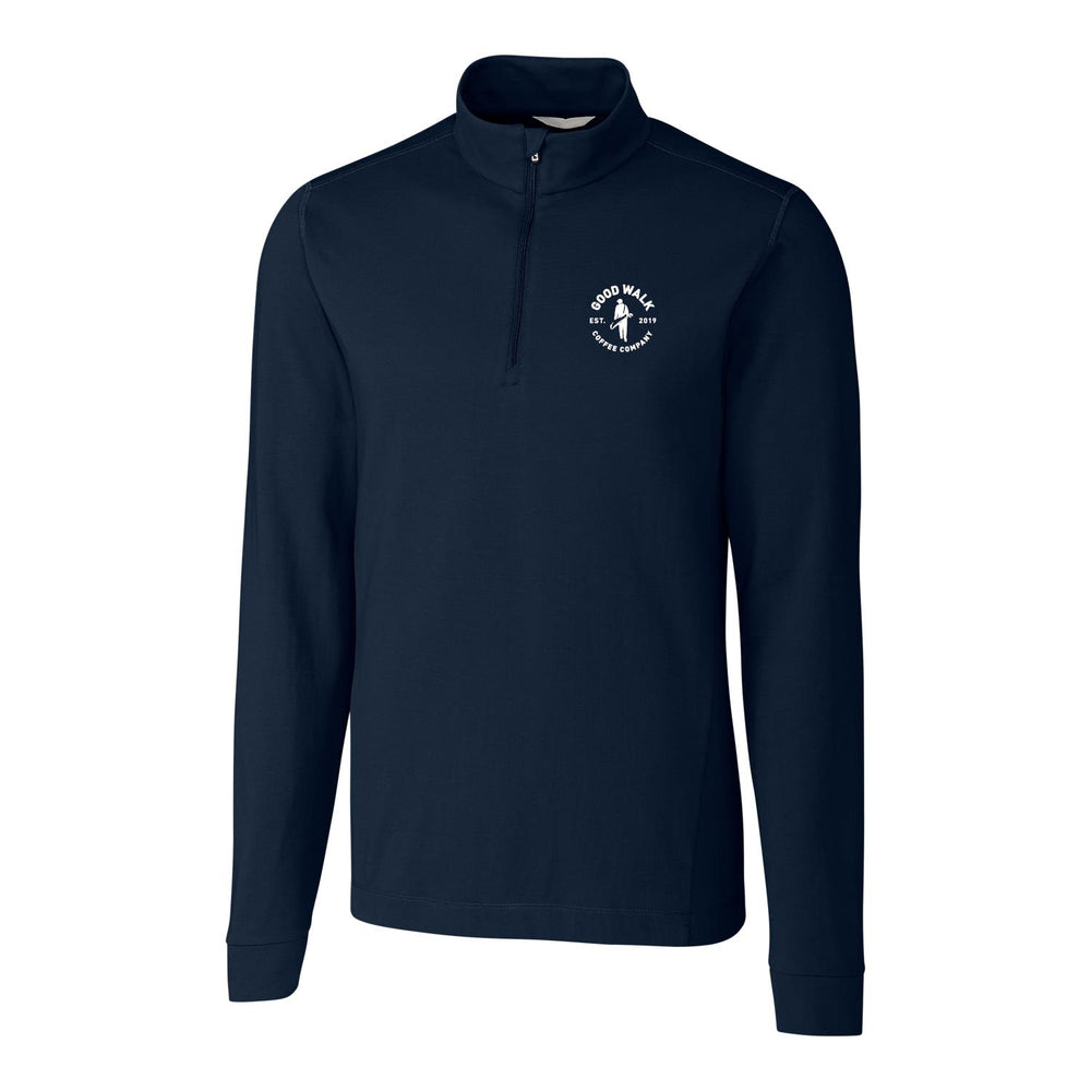 The Gamer Navy Quarter Zip