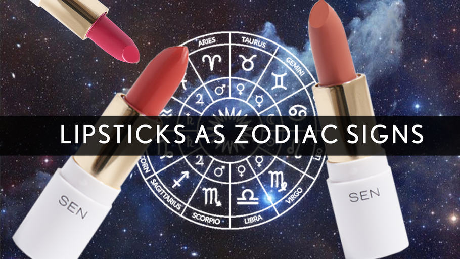 Zodiac Signs as Petite Lipsticks