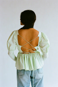 Freya Top | Spearmint ALLINA LIU