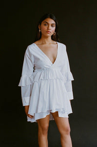 Rhea Dress | Milk featured product ALLINA LIU