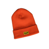 Donut Box Logo Beanie - Orange