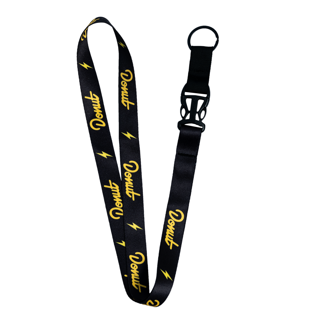 Lightning Lanyard Donut Media Store