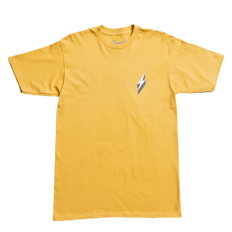 LIGHTNING LORD T-SHIRT - MUSTARD