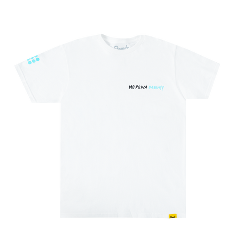 Mo Powa T-Shirt - White