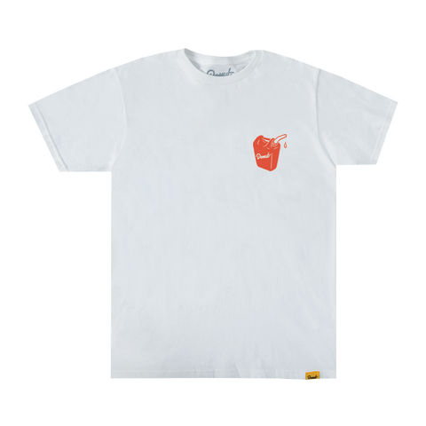 Oil Crisis T-Shirt - White