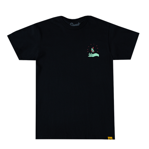Pop Up & Down Headlights Tee - Mint