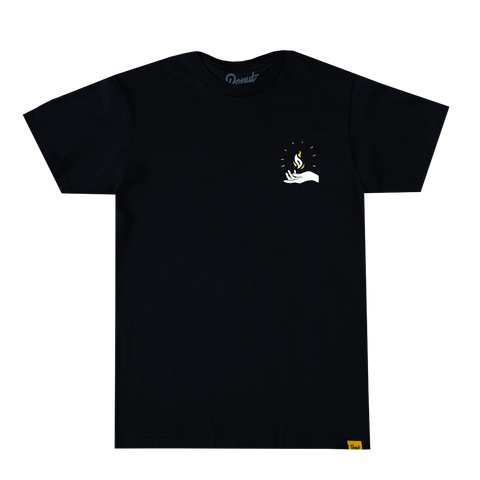 Pop Up & Down Headlights Tee - White