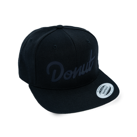 Dark Mode Donut Snapback Hat