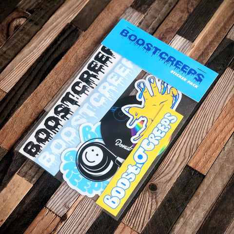 Boost Creeps Sticker Pack