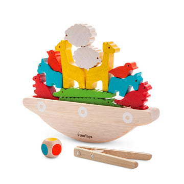 Wooden Balancing Boat Game