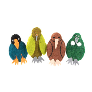 Finger Puppet Set -  Native Birds