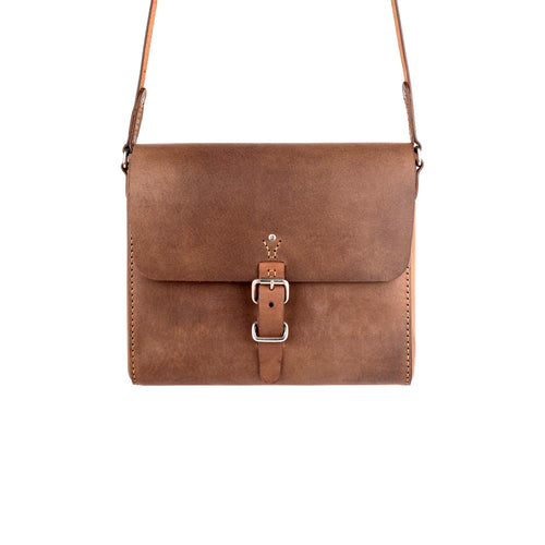 The Companion Satchel: Vintage Brown