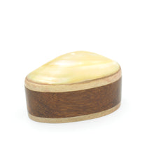 Load image into Gallery viewer, Wooden Keepsake Box - Oval