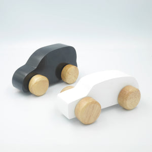 Wooden Cars - Monochrome Set