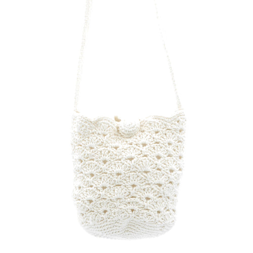 Crochet Bag - Cream