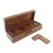 Load image into Gallery viewer, Wooden Domino Set - Traditional