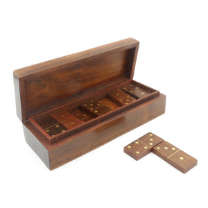 Wooden Domino Set - Traditional