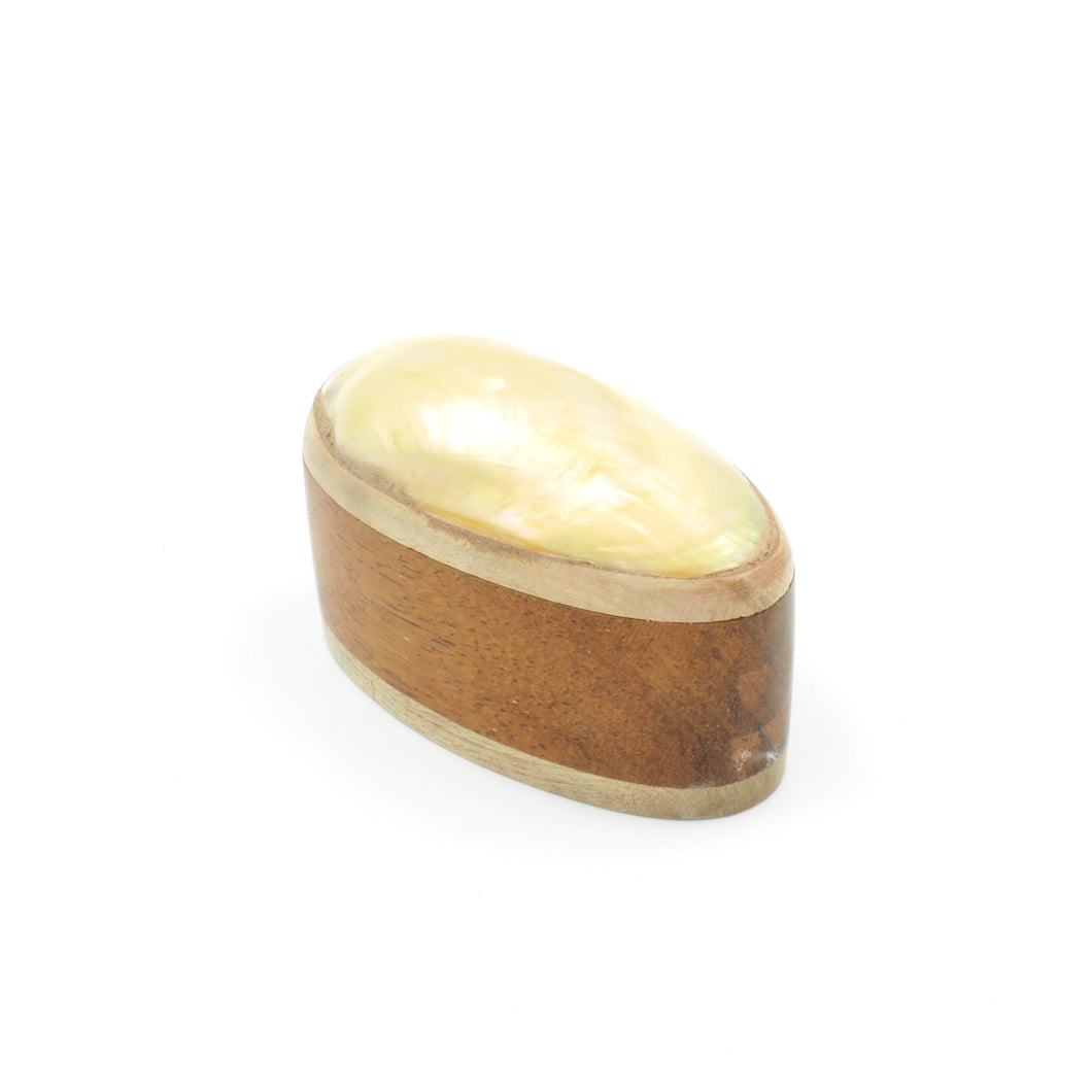 Wooden Keepsake Box - Oval