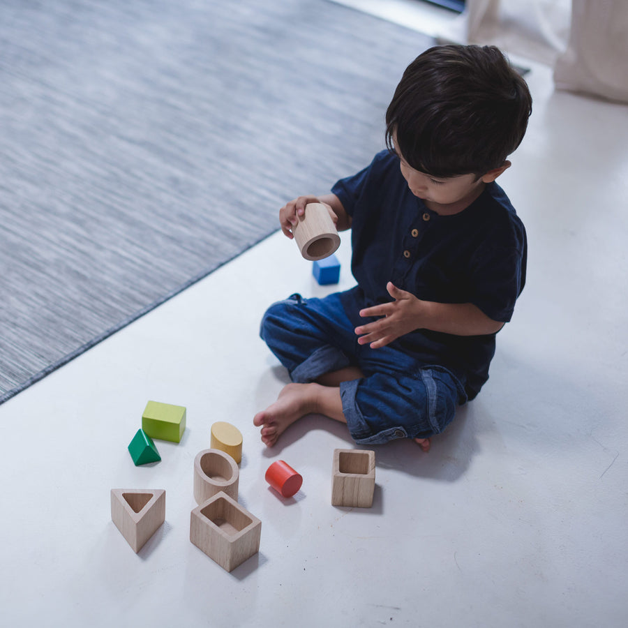 Geometric Matching Blocks