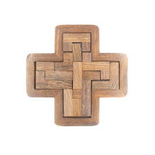 Load image into Gallery viewer, Wooden Cross Puzzle