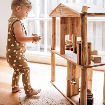 Eco Wooden Doll House