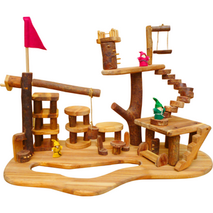 Tree House Playset - Large Complex