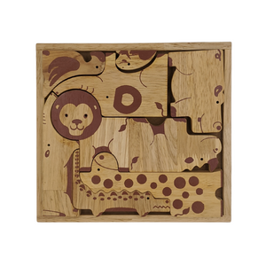 Jungle Animal Puzzle Set