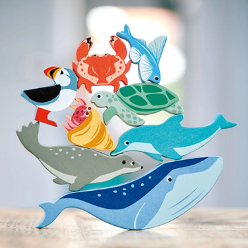 Wooden Animal Set - Coastal Creatures