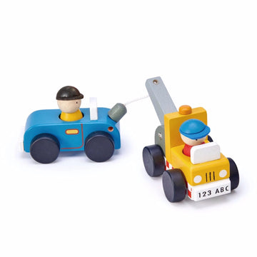 Tow Truck and Car Set