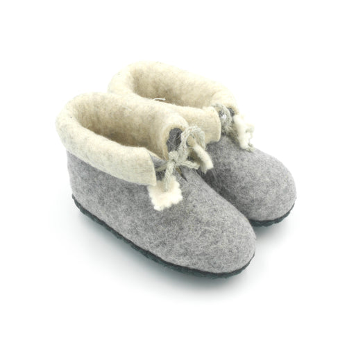Felt Baby Booties - 3 colours