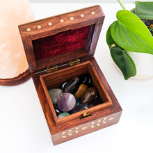 Load image into Gallery viewer, Wooden Keepsake Box - Ornate Design