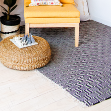 Load image into Gallery viewer, Woven Rug - Diamond Design