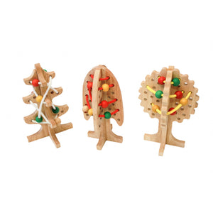 Wooden Lacing Trees