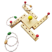 Load image into Gallery viewer, Wooden Ring Toss | Flexi Quoits
