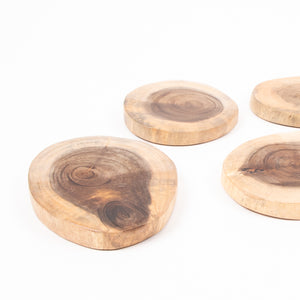 Natural Wooden Mini Slabs